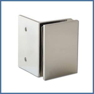 """Eckdusche """"Premium"""" 880/880mm (Seitenteil, Tür, Seite), Finesse Line, VA-Finish – Bild 4"""