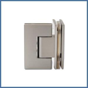 """Eckdusche """"Premium"""" 780/980mm (Seitenteil, Tür, Seite), Finesse Line, VA-Finish – Bild 3"""