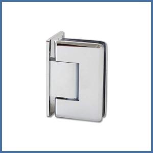 "Nischen-Dusche ""Door"", 2000 x 990 x 995mm, Talais, Chrom – Bild 2"