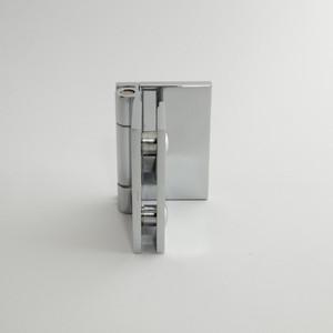 """Duschtürbeschlag """"Slim Line"""", Glas-Wand, 90°, Langl. mit Abd., Glanzchrom – Bild 4"""