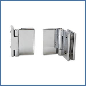"Nischen-Dusche ""Door"", 2000 x 920-925mm, Slim Line, Chrom – Bild 2"