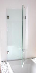 Badewannenaufsatz Double Swing 1015mm x 8mm x 1300mm, Slim Line, Glanzchrom – Bild 4