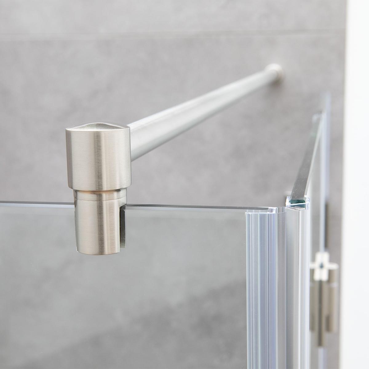 Gut gemocht Stabilisierungsstange Dusche Edelstahl, Stabistange für Duschwand QC29