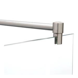 Stabilisierungsstange Dusche Edelstahl, Stabistange für Duschwand, Glas-Wand – Bild 2