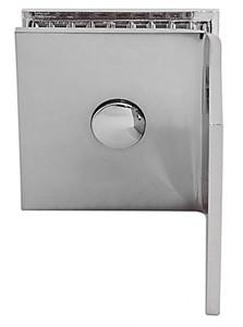 Winkelverbinder Fixum S, Glas-Wand, 90°, Chrom – Bild 3