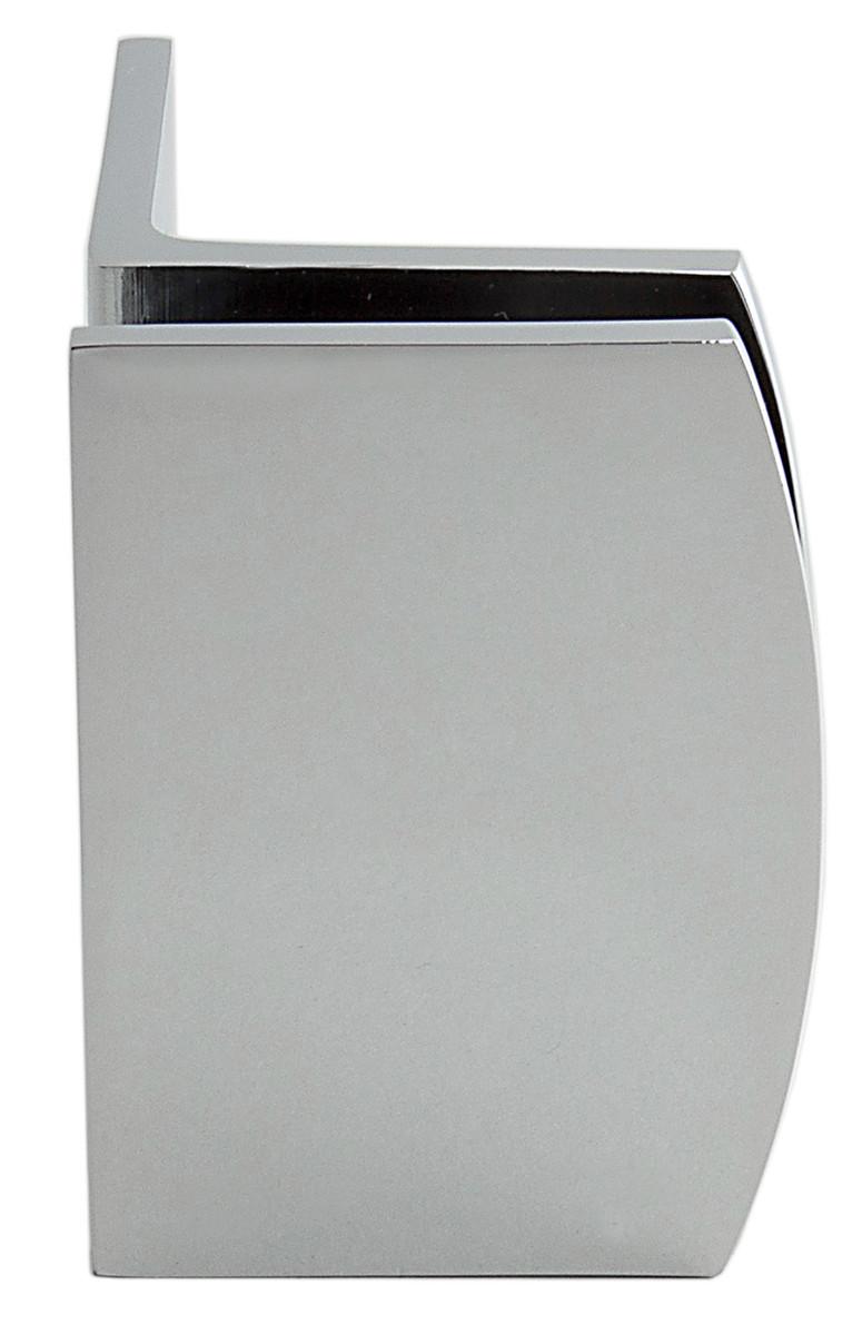 Winkelbefestigung Fixum RS, Glas-Glas, 90°, Chrom