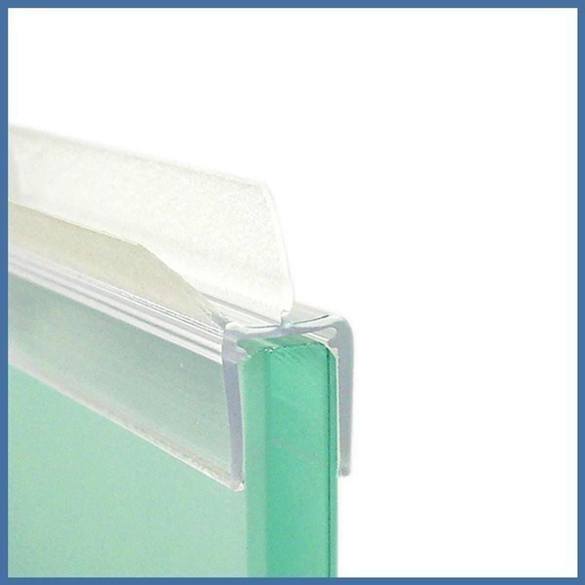wasserabweisprofil f r 6 8mm glas duschen 1000mm profile dichtungen 501204510. Black Bedroom Furniture Sets. Home Design Ideas