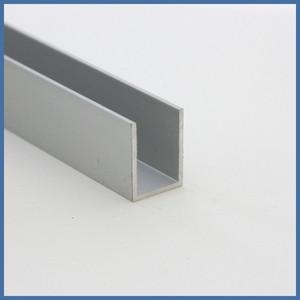 "Walk-In Dusche ""Straight L Side Plus"" 1000/1100/400mm, Alu-Profil, Chromoptik – Bild 5"