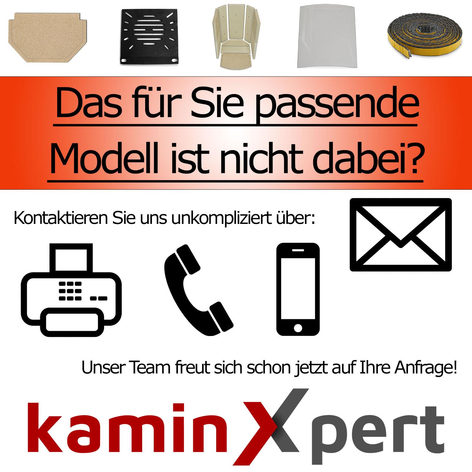 Zugumlenkung f/ür Wamsler Jupiter KF 108 Kamin/öfen Passgenaues Kaminofen Ersatzteil Schamotte