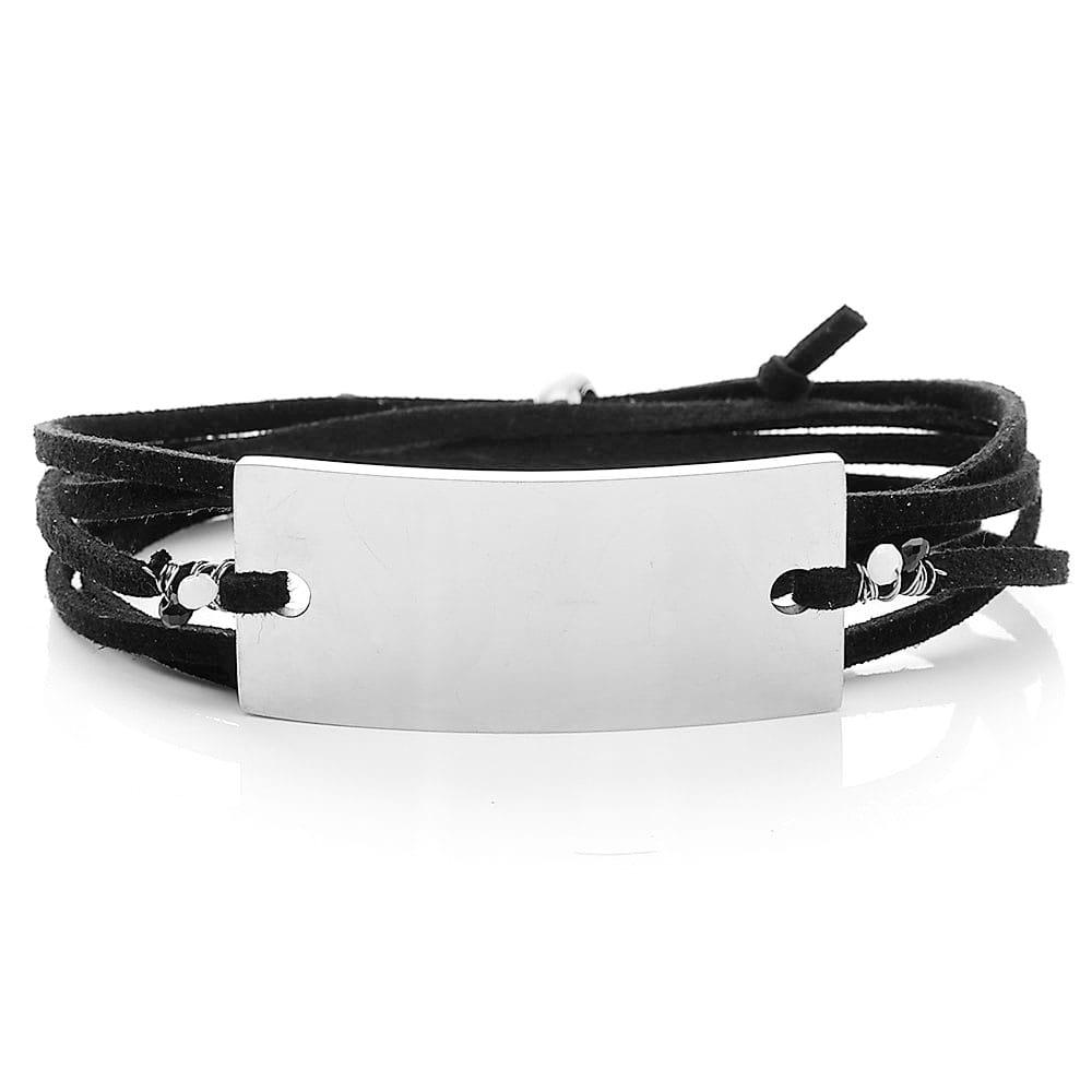 Gravur-Wickelarmband-Armband