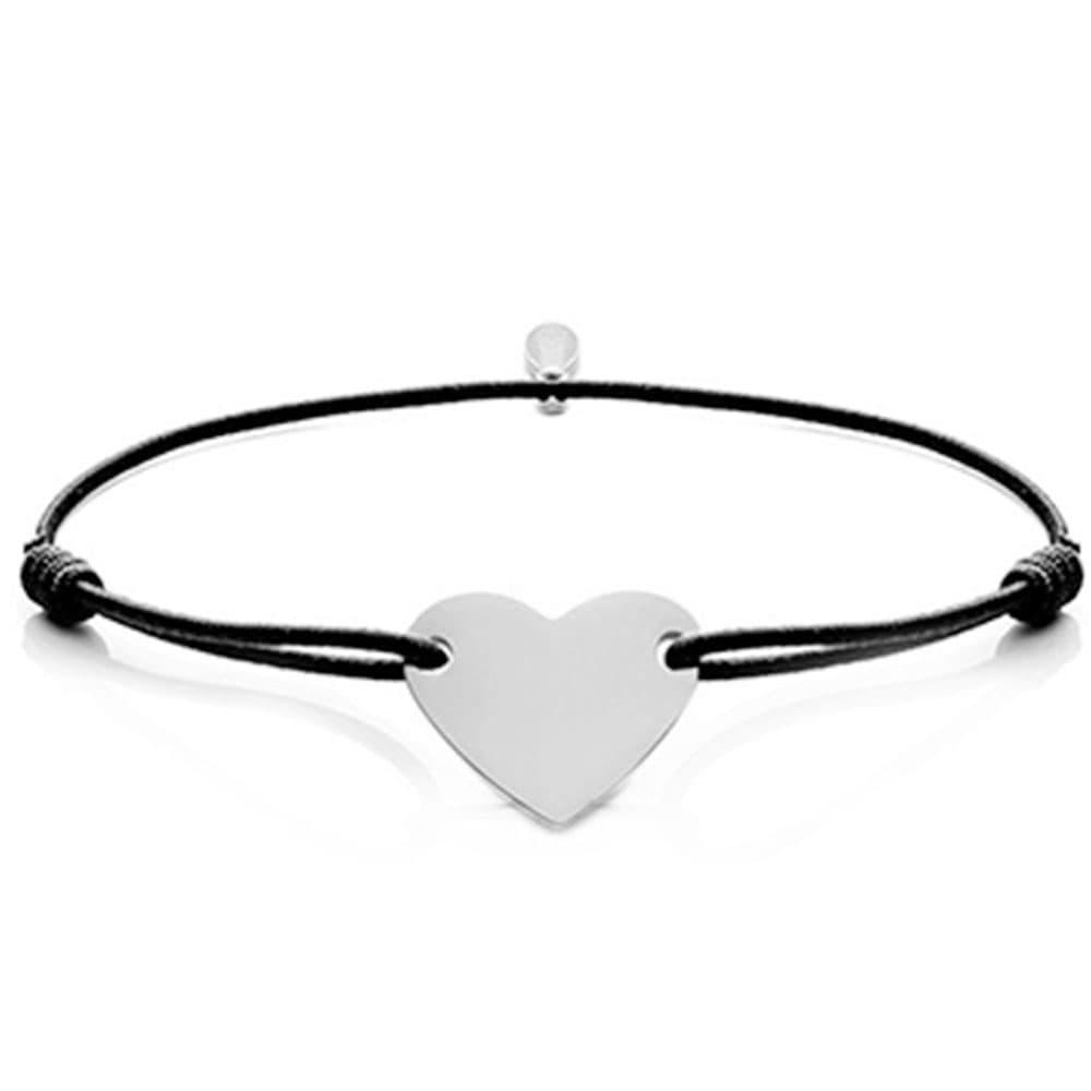Gravur-Armband mit Memory-Herz