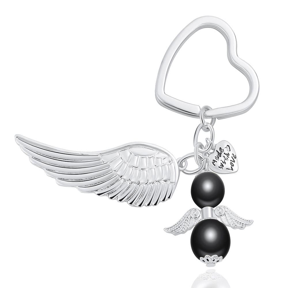 Engel-Herz-Schlüsselanhänger