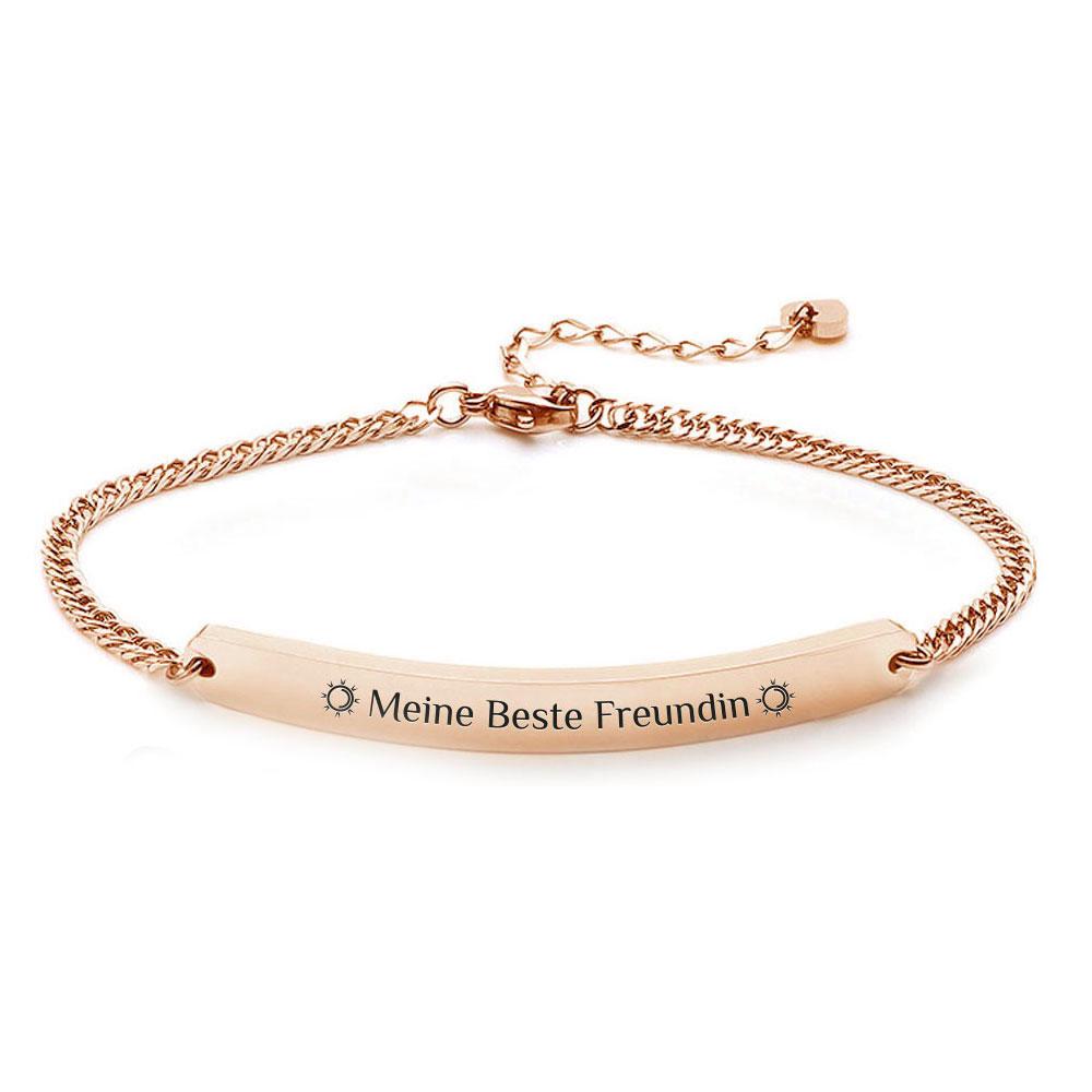 Gravur-Armband für Damen
