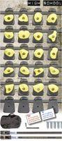 Monkey Set  High School  gemischte Farben - 3,2m Ratschengurt