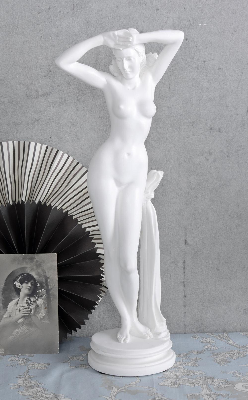 FIGUR FRAUENAKT NACKTE VENUS ANTIKE Aphrodite Frauenfigur Mythologie