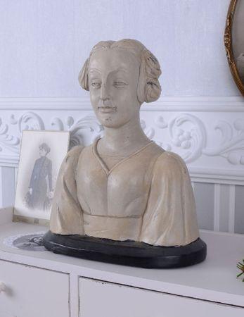 Buste de Femme Art Déco 30 Ans Tête de Femme Mannequin Buste Figure Féminine