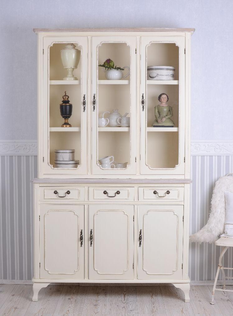gustavianischer Buffet Mueble de Cocina Blanco Armario vajilla | eBay