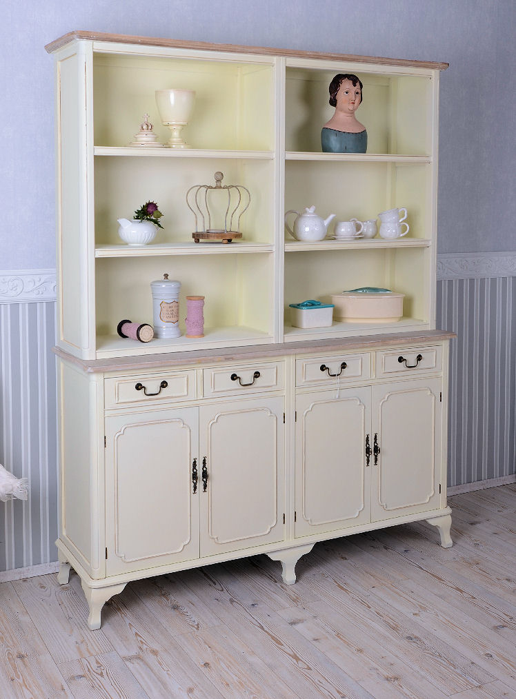 k chenregal shabby chic k chenschrank buffet weiss regal antik ebay. Black Bedroom Furniture Sets. Home Design Ideas
