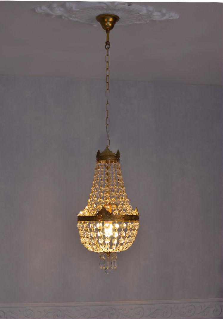Deckenlampe Rokoko Lüster Kristall Lampe Deckenleuchte Shabby Chic Kronleuchter