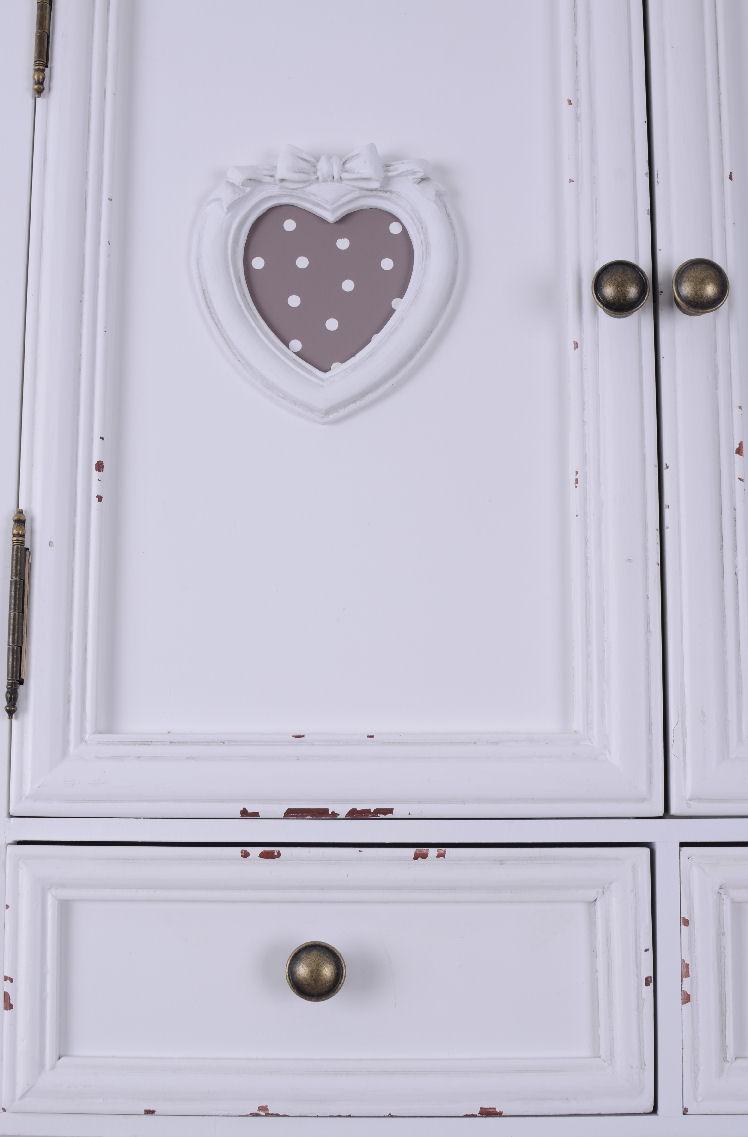 wandschrank vintage h ngeschrank weiss garderobe shabby chic k chenschrank holz ebay. Black Bedroom Furniture Sets. Home Design Ideas