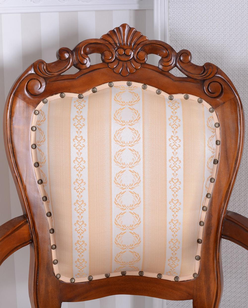 Stuhl Mit Armlehne Armlehnstuhl Armlehnsessel Antik Sessel