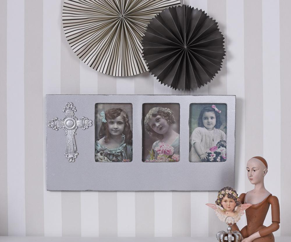 bilderrahmen collage foto galerie rahmen silber fotorahmen vintage