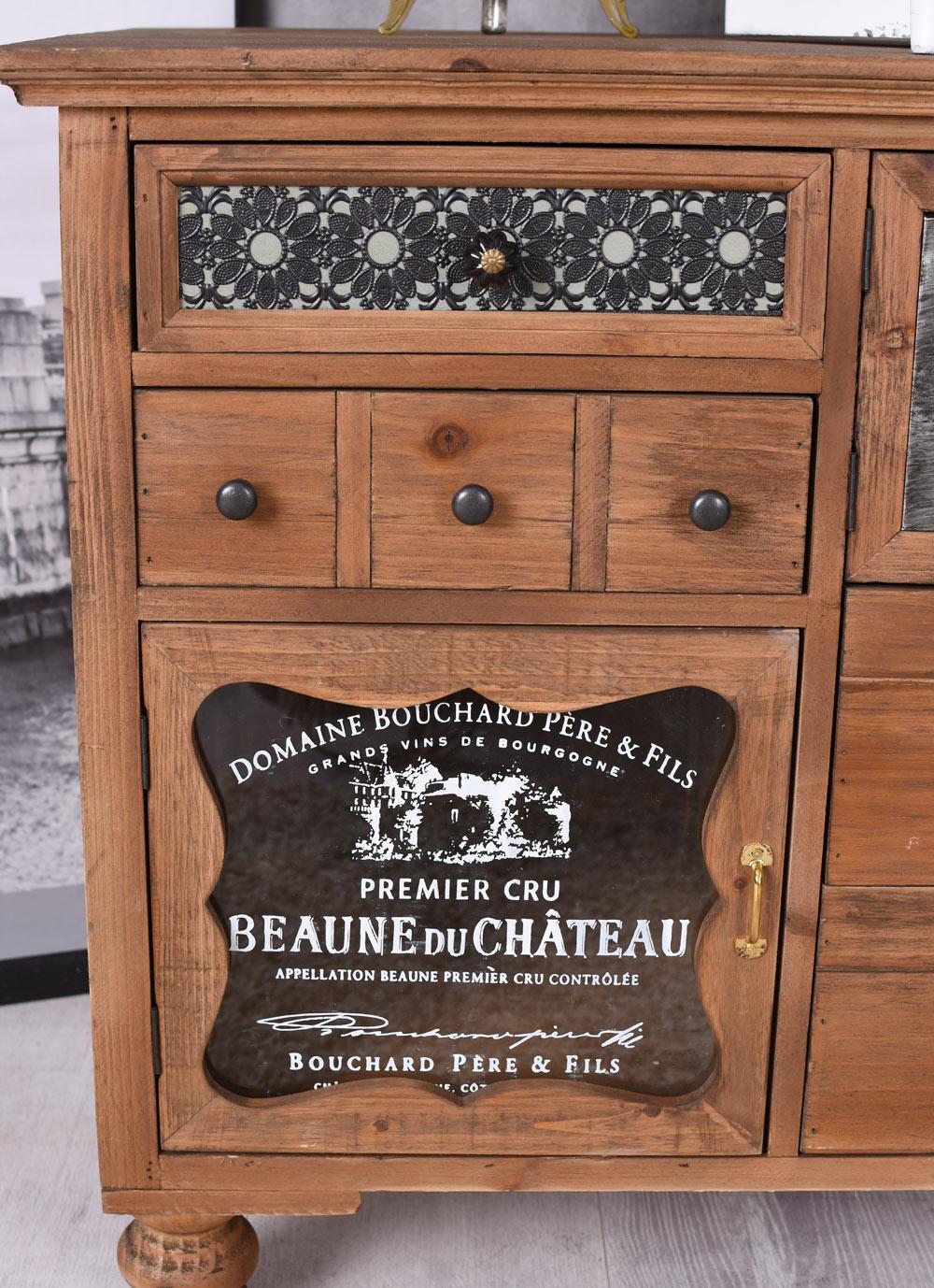 Anrichte Industral Sideboard Loft Kommode Apothekerschrank Vintage