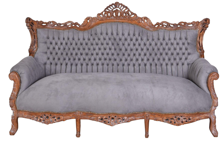Terrific Prunksofa Barockes Sofa Salon Couch Antik Stil Sitzbank 200Cm Interior Design Ideas Greaswefileorg