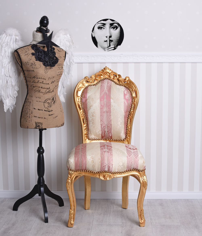 Antique De Chaise Baroque Fauteuil Salle A Manger