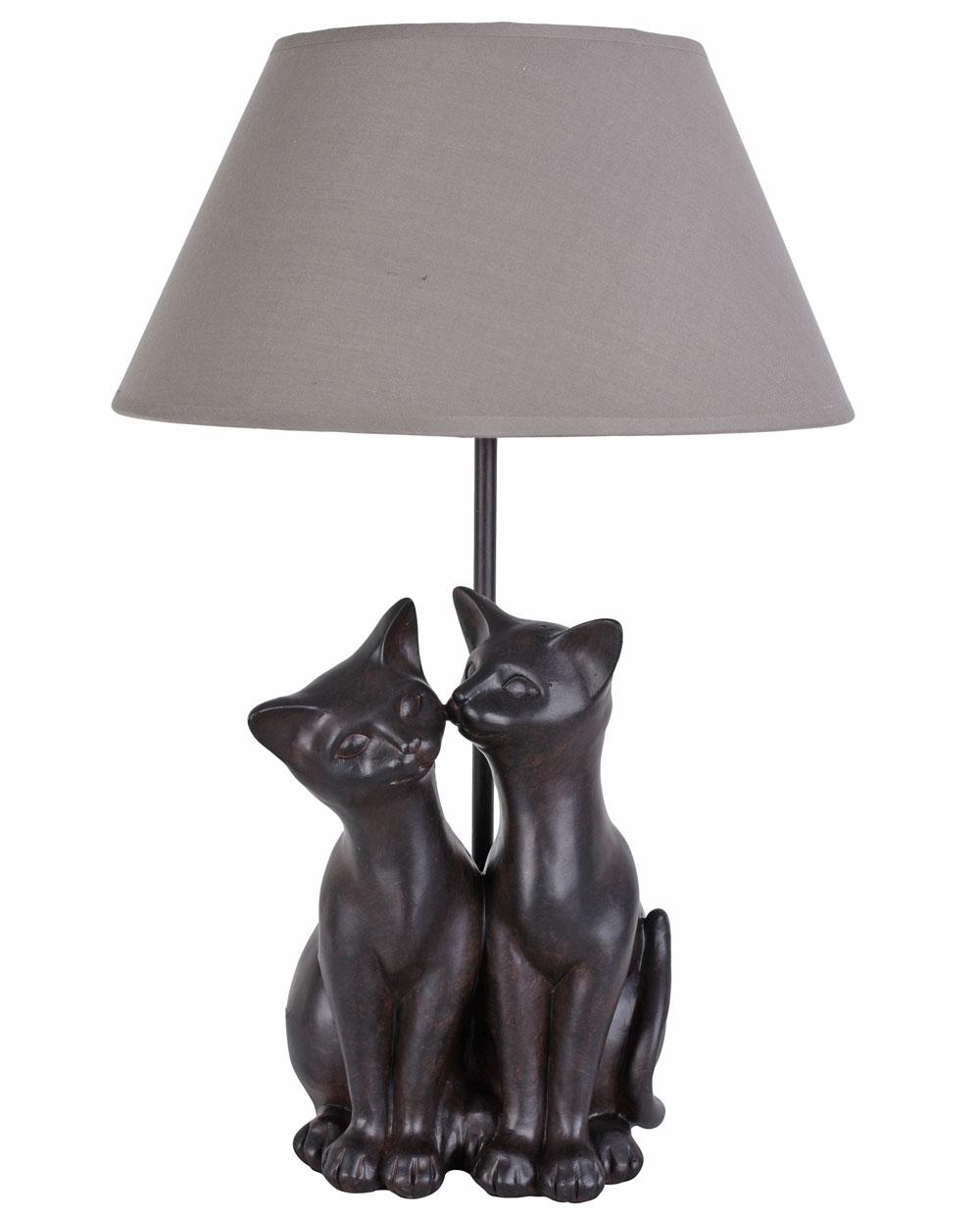 Lampada Da Tavolo Gatto Katzenlampe Luce Figura Animale Decorativa Ebay
