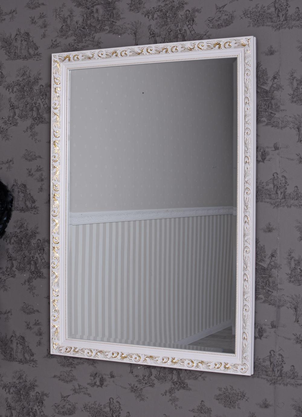 Badezimmerspiegel Antik.Badspiegel Barock Spiegel Antik Weiss Wandspiegel Dekospiegel Badezimmerspiegel Ebay