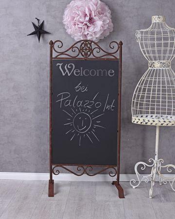 Standtafel Metalltafel Kreidetafel Küchentafel Schreibtafel Präsentationstafel Home, Furniture & DIY Plaques, Signs & Letters