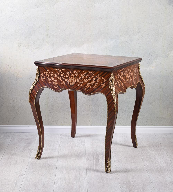 Klapptisch Antik.Details Zu Beistelltisch Spieltisch Konsolentisch Klapptisch Antik Verwandlungstisch Barock