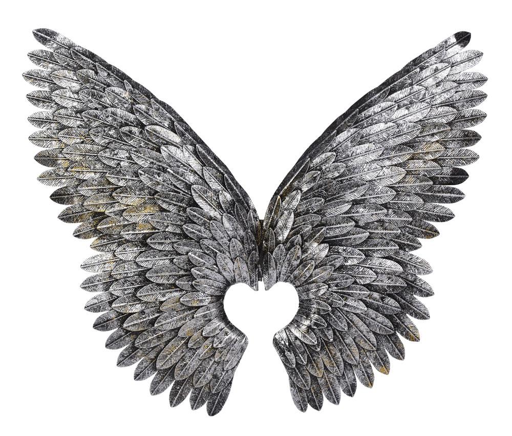 Engelsflügel Wanddeko Flügel Shabby Chic Engel XXL Wandflügel Flügeldekoration