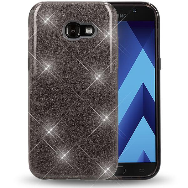 NALIA Handyhülle kompatibel mit Samsung Galaxy A5 2017, Glitzer Slim Silikon-Case Back-Cover Schutzhülle, Glitter Sparkle Handy-Tasche Bumper, Dünne Bling Strass Smart-Phone Hülle – Bild 22