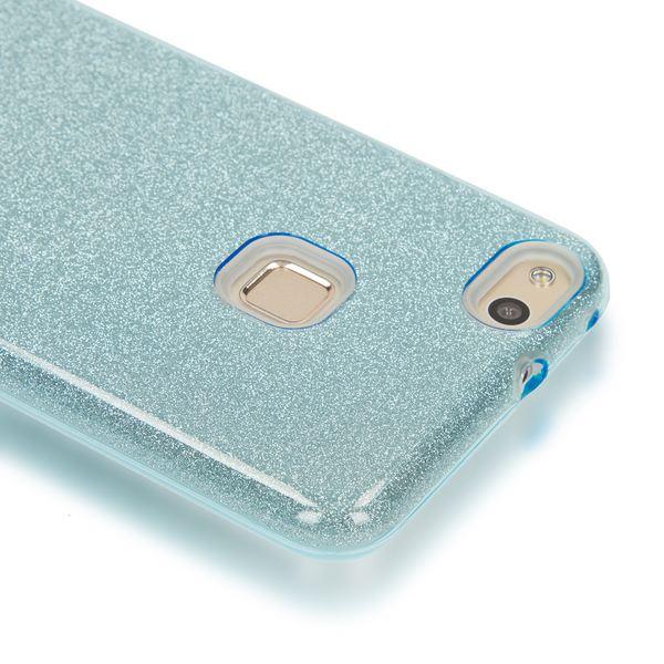 NALIA Handyhülle für HuaweiP10 Lite, Glitzer Ultra-Slim Silikon-Case Back-Cover Schutz-Hülle, Glitter Sparkle Handy-Tasche Bumper, Dünnes Bling Strass Phone Etui für P-10 Lite – Bild 9