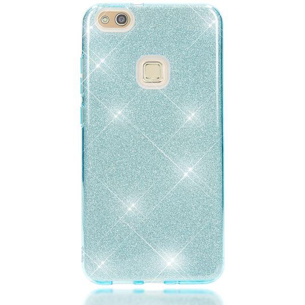 NALIA Handyhülle für HuaweiP10 Lite, Glitzer Ultra-Slim Silikon-Case Back-Cover Schutz-Hülle, Glitter Sparkle Handy-Tasche Bumper, Dünnes Bling Strass Phone Etui für P-10 Lite – Bild 12