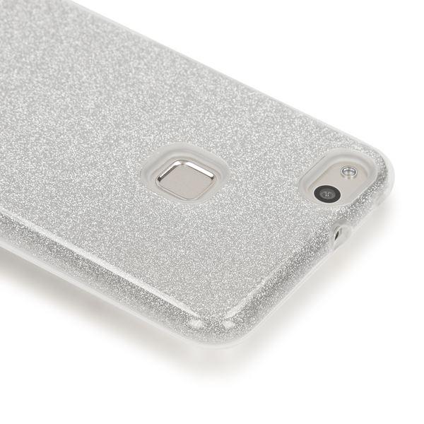 NALIA Handyhülle für HuaweiP10 Lite, Glitzer Ultra-Slim Silikon-Case Back-Cover Schutz-Hülle, Glitter Sparkle Handy-Tasche Bumper, Dünnes Bling Strass Phone Etui für P-10 Lite – Bild 15