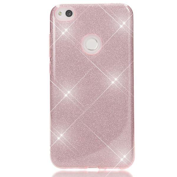 NALIA Handyhülle kompatibel mit Huawei P8 Lite 2017, Glitzer Slim Silikon-Case Back-Cover Schutzhülle, Glitter Sparkle Handy-Tasche Bumper, Dünne Bling Strass Smart-Phone Hülle – Bild 24