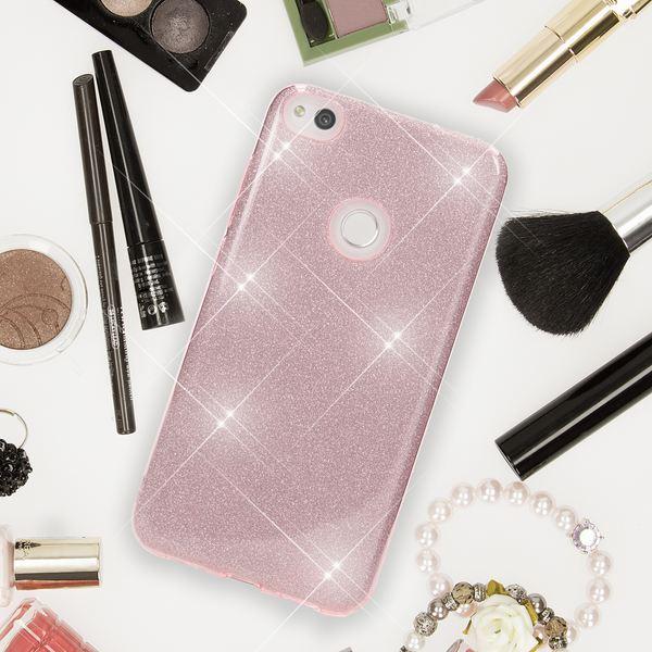 NALIA Handyhülle für HuaweiP8 Lite 2017, Glitzer Ultra-Slim Silikon-Case Back-Cover Schutz-Hülle, Glitter Sparkle Handy-Tasche Bumper Dünnes Bling Strass Phone Etui für P-8 Lite 17 – Bild 25