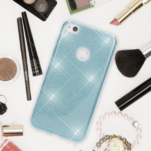 NALIA Handyhülle kompatibel mit Huawei P8 Lite 2017, Glitzer Slim Silikon-Case Back-Cover Schutzhülle, Glitter Sparkle Handy-Tasche Bumper, Dünne Bling Strass Smart-Phone Hülle – Bild 7