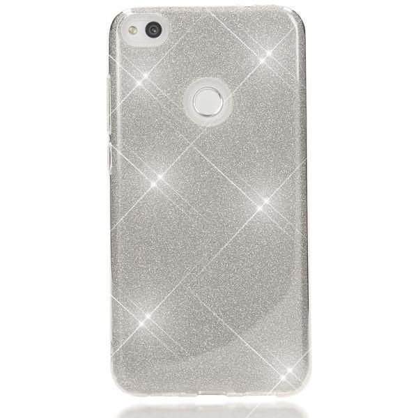 NALIA Handyhülle kompatibel mit Huawei P8 Lite 2017, Glitzer Slim Silikon-Case Back-Cover Schutzhülle, Glitter Sparkle Handy-Tasche Bumper, Dünne Bling Strass Smart-Phone Hülle – Bild 12