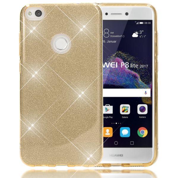 NALIA Handyhülle für HuaweiP8 Lite 2017, Glitzer Ultra-Slim Silikon-Case Back-Cover Schutz-Hülle, Glitter Sparkle Handy-Tasche Bumper Dünnes Bling Strass Phone Etui für P-8 Lite 17 – Bild 14