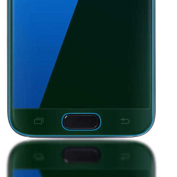 NALIA Schutzglas kompatibel mit Samsung Galaxy S7, 3D Full-Cover Displayschutz Hüllen-Kompatibel, 9H Glas-Schutzfolie Handy-Folie Schutz-Film, Phone HD Screen Protector Tempered Glass - Transparent – Bild 5