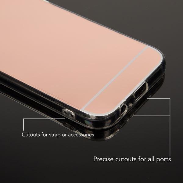NALIA Spiegel Hülle kompatibel mit Samsung Galaxy A3 2017, Ultra-Slim Mirror Case TPU Silikon Handyhülle, Dünne Schutzhülle Back-Cover verspiegelt, Handy-Tasche Bumper Phone Etui – Bild 14
