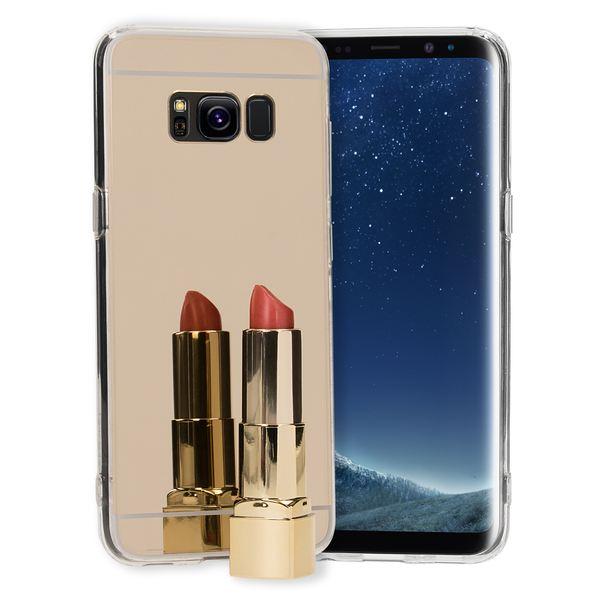 NALIA Spiegel Hülle kompatibel mit Samsung Galaxy S8, Ultra-Slim Mirror Case TPU Silikon Handyhülle, Dünne Schutzhülle Back-Cover verspiegelt, Handy-Tasche Bumper Smart-Phone Etui – Bild 7