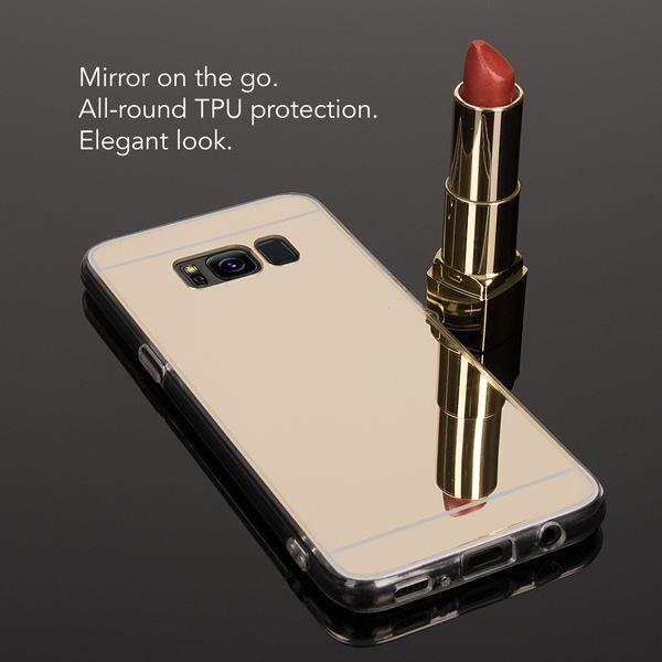 NALIA Spiegel Hülle kompatibel mit Samsung Galaxy S8, Ultra-Slim Mirror Case TPU Silikon Handyhülle, Dünne Schutzhülle Back-Cover verspiegelt, Handy-Tasche Bumper Smart-Phone Etui – Bild 11
