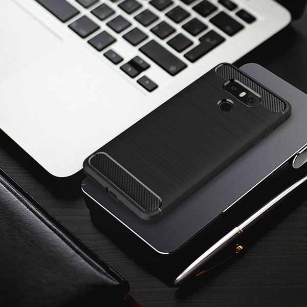 NALIA Handyhülle für LG G6, Ultra Slim Silikon Case Cover, Dünne Crystal Phone Schutz-Hülle Silikonhülle, Etui Handy-Tasche Back-Cover Bumper, TPU Gummihülle für LG G-6 Smartphone – Bild 3