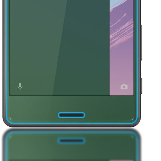 Sony Xperia X Panzerglas Schutzfolie von NICA, 3D Round Edge Full-Cover Displayschutz-Folie / 9H Panzerfolie Schutz-Glas / Volle Handy Display-Abdeckung Panzer-Glasfolie Displayfolie Tempered Glass – Bild 5