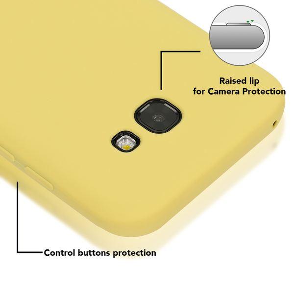 NALIA Handyhülle kompatibel mit Samsung Galaxy A5 2017, Jelly Case Schutzhülle Ultra-Slim Silikon Back-Cover, Dünne Gummi Hülle Handy-Tasche Schale, Smart-Phone Bumper Skin Etui – Bild 18